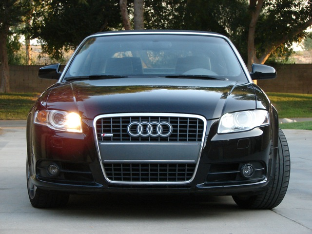 Has Anyone Replaced The Stock Daytime Running Lights - 2007 audi a4 headlights